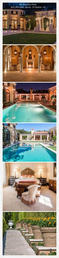 Luxury Estates with Pools by Sotheby's - only set you back about $45,000,000 million-Yes I think this one will do nicely@Luxurydotcom