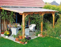 Douglasienholz Terrassen-Überdachungen Shop - Beckmann KG - Ihr Spezialist für Gewächshaus und Gartenartikel
