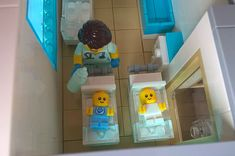 Lego City General Hospital :: My LEGO creations. A Lego Hospital for all your medical needs Lego Toys, Lego Duplo, Legos, Lego Ambulance, Lego Hospital, Lego Baby, Toy Story Figures, Lego Modular, Lego Group