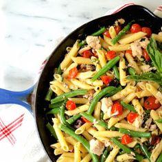 Tuna Nicoise Penne Recipe | Yummly