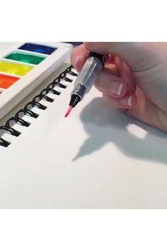 Take inspiration and practice your Calligraphy skills using Neon Komorebi Watercolors! . . . . . #MozArtSupplies #Calligraphy #watercolor #art #letting #neonwatercolor #Lettinginspiration Watercolor Paint Set, Watercolor Brushes, Watercolors, Calligraphy Watercolor, Water Brush Pen, Brush Pen Art, Metallic Colors, Vibrant Colors, Japanese Watercolor