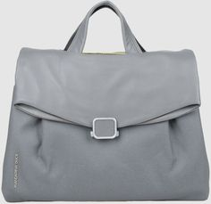 Mandarina Duck Gray Briefcase