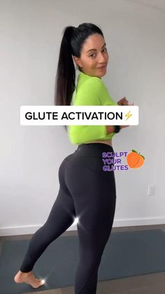 GLUTE ACTIVATION 🔥🍑