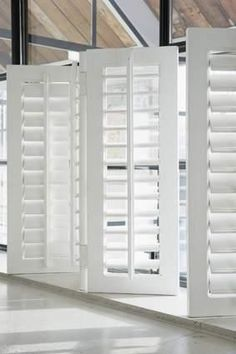Great interior folding shutters