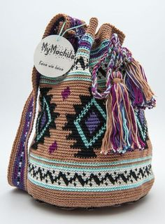 """My Mochila"" Häkeltasche Tapestry"