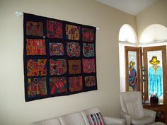 How to Hang A Quilt, Tapestry or Rug