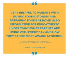 """It has been a privilege to finish off 2016 by presenting our workshop """"Introduction to Managing Food Allergies"""" to a number of parents and e. Food Allergies, Childrens Books, Positivity, Community, Fun, Children's Books, Children Books, Baby Books, Funny"""