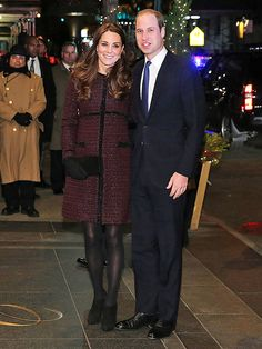 Star Tracks: Monday, December 8, 2014 | WELCOME TO NEW YORK | They're here! Prince William and Kate begin their royal visit to the U.S. on Sunday with a stop at their Manhattan hotel, The Carlyle.