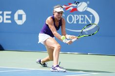 Women's round 3 action   September 2, 2016 - Johanna Konta in action against Belinda Bencic during the 2016 US Open at the USTA Billie Jean King National Tennis Center in Flushing, NY.