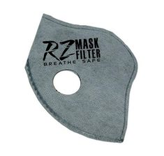 RZ Mask Breathe Safe Facemask Replacement Filters 3 Pack X-Large