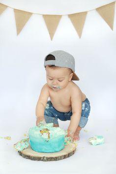 One Year Old Baby Photo Session Mami Vida Boy First Birthday 1