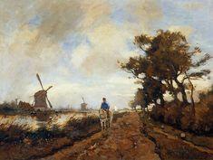 Horseman on a Tow Path Johan Hendrik Weissenbruch