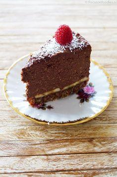 Paleo suikervrije en glutenvrije chocolade taart