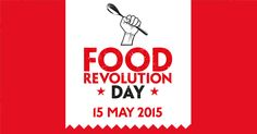Well, we are 1 day away from Food Revolution Day, This FRIDAY MAY 15 is the day. I have been a Food Revolution Ambassador for 4 years and it . Jamie Oliver, Yummy Healthy Snacks, Healthy Desserts, Healthy Life, Healthy Eating, Yummy Food, Healthy Recipes, Chocolate Bar Recipe, Puffed Quinoa