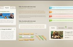 <p>An easy on the eyes light UI kit best used for a coffee shop, bistro or pastry website. An easy pick if you want your website to make an amazing lasting impression.</p>