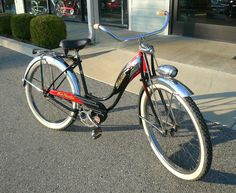 1956 Women's Schwinn Black Phantom