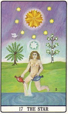The Star - Golden Dawn Tarot