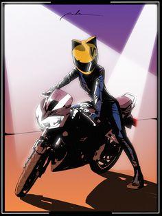 Motorcycle drawing anime New Ideas Anime Motorcycle, Motorcycle Style, Motorcycle Helmet, Manga Posen, Motorbike Girl, Durarara, Biker Girl, Anime Art Girl, Anime Girls