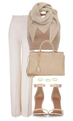 """Sin título #739"" by pinedadaniela ❤ liked on Polyvore featuring Emilia Wickstead, Mulberry, Givenchy and Yves Saint Laurent"