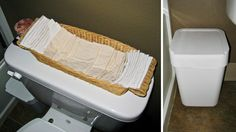 Reusable toilet paper: The reusable model is always a more sustainable choice than the disposable alternative.