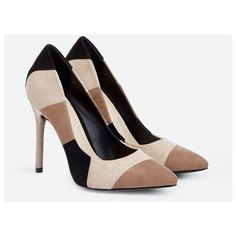 Justfab Pumps Despina ($40) ❤ liked on Polyvore featuring shoes, pumps, multi, high heel shoes, high heel court shoes, high heeled footwear, platform pumps and sexy pumps