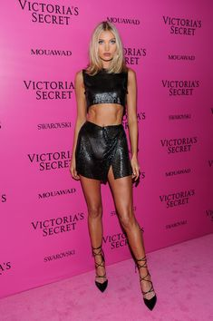 ELSA HOSK at 2017 VS Fashion Show After Party in Shanghai 11/20/2017