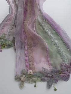 Yeah I know these are scarves, but I like to use them as runners on my shabby chic dining table.....just a old hippie at heart.