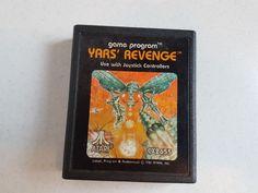 Vtg Video Game Atari Console Game Program Yars Revenge 1982 Atari, Console, Revenge, Programming, Video Game, Ebay, Games, Gaming, Computer Programming