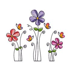 Machine Embroidery Design Flowers SET 3 articles in Flower Embroidery Designs, Machine Embroidery Designs, Embroidery Patterns, Floral Embroidery, Embroidery Monogram, Embroidery Applique, Flower Designs, Doodle Drawings, Doodle Art