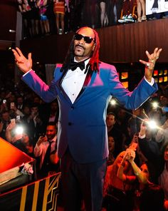 Drake, Snoop Dogg & DJ Khaled Celebrate New Year's Eve at Marquee, TAO and LAVO on Dec 31, 201 (Pictured: Snoop Dogg at TAO – Photo credit: Brenton Ho).