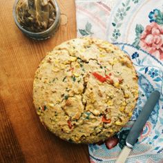 Chilli & Sweetcorn Spicy Cornbread with Molasses Butter recipe