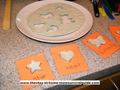 The Stay-at-Home-Mom Survival Guide: Homemade Play Dough Puzzle