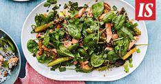 Parsa ja lohi ovat täydellisiä yhdessä – myös vokissa. Seaweed Salad, Parsa, Green Beans, Vegetables, Ethnic Recipes, Vegetable Recipes, Veggies