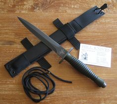 The Dutch Knife company Hill Knives of Holland, renowned for making top quality knives, made a modern take on the F-S (Fairbairn-Sykes) Commando Fighting Dagger. Hope they have a second run.