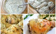 polloyogurt Mashed Potatoes, Dishes, Chicken, Meat, Cooking, Pollo Yogurt, Ethnic Recipes, Food, Projects