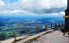 #Untersberg #Mountain #Austria- Dazzling visitors with its #panoramic view, Untersberg showcases the luscious #Salzburg basin all the way to the snow-peaked Alps. Get some great #trip_ideas and start planning your next trip! See More: RoutePerfect.com