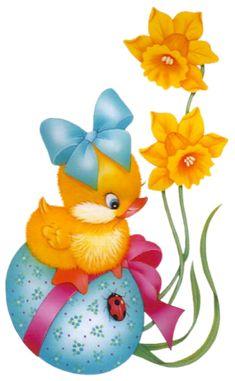 Easter Chicks page 3 - Easter Images Easter Bunny Cake, Easter Art, Easter Crafts, Easter Chick, Ostern Wallpaper, Easter Cartoons, Happy Birthday Flower, Illustration Noel, Diy Ostern
