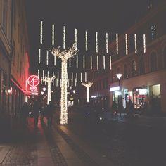 bengtssonsofia @ instagram. #malmö #city #lights #night #christmas #christmaslights #christmastime #christmasspirit #winter #tree #simplicity #sweden #swedish #sverige #instagram #statigram