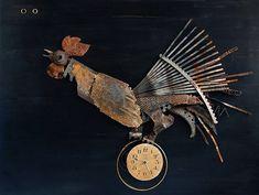 Vladimiras Nikonovas kreiert Metall-Tiere aus Schrott