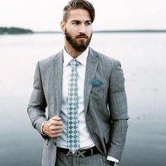 5c1484d7728 man with beards wearing grey suit  ruggedmensfashion  MensFashionRugged