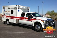 Firetrucks Unlimited offers Ambulance Remounts and Ambulance Repair Service. Diesel Vehicles, Diesel Cars, Ford Ambulance, Columbus Fire Department, Westside Connection, Life Flight, Cool Fire, Bug Out Vehicle, Emergency Medical Services