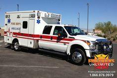 Ambulance Remount by Firetrucks Unlimited