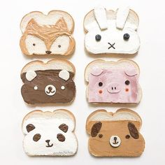 make eating fun.cute and yummie sandwiches. make eating fun.cute and yummie sandwiches. Cute Snacks, Cute Desserts, Cute Food, Tasty Snacks, Toddler Meals, Kids Meals, School Lunch Sandwiches, Fun Sandwiches For Kids, Easy School Lunches