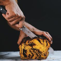 Pumpkin, Squash, and Sweet Potato Desserts -- Spiced Butternut Squash Whoopie Pies with Maple Cream Cheese Filling, Chocolate Swirl Sweet Potato Babka, Chocolate Pumpkin Bread with Pecans, Pumpkin Oat Loaf with Pepita Praline Crunch, and Pumpkin Soufflés -- feedfeed