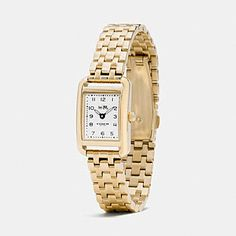 THOMPSON GOLD PLATED BRACELET WATCH - Alternate View 1