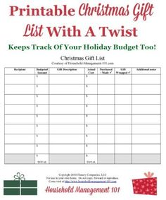 Printable Christmas Grocery List For Your Holiday Meals  Free