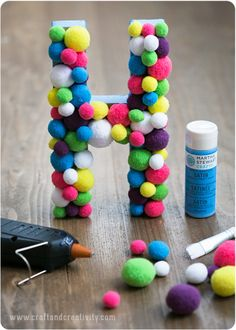 Craftiest Ways to Decorate Letters #Letters #Home #Homecraft