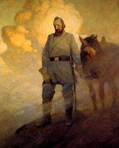 Civil War Art – N. C. Wyeth | Bull Runnings