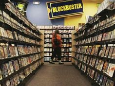 Loved the video store.