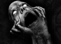 Dark picture by Azgleff. Visit this page to see more dark scary pictures Arte Horror, Horror Art, Horror Movies, Horror Film, Gothic Horror, Images Terrifiantes, Art Sinistre, Art Noir, Creepy Pictures
